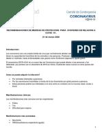 200321 Rec. COVID-19 Medidas de proteccion para choferes
