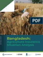 BangladeshAgricultureInsuranceSituationAnalysis