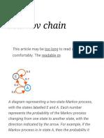 Markov chain - Wikipedia