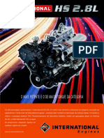 Prospecto motor Maxion HS 2.8L