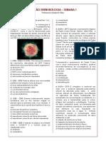 REVISÃO 1 ENEM BIOLOGIA