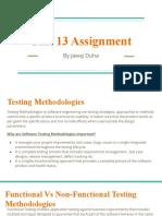 Unit 13 Software Testing Assignment Part A.pptx