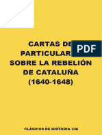 Cartas Particulares Rebelión Catalana