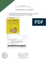 Manual de Instalacion Office 365 Personal