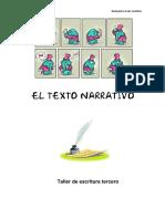Guía texto narrativo TERCERO