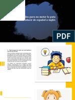 7 reglas para no meter la pata al traducir de español a inglés