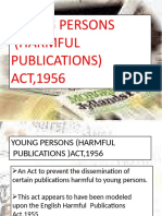 YOUNG PERSONS  (HARMFUL  PUBLICATIONS)  ACT,1956