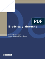 Bioética y derecho