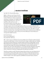 Machiavelli's memorandum _ The Economist