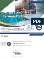 Unidad 2 Política monetaria
