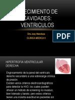 crecimiento ventriculares