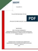 TALLER 2 MERCADO DE VALORES
