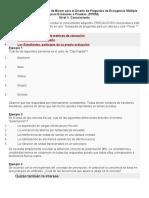 Aplicación de la Taxonomía de Bloom para el Diseño de Preguntas de Escogencia Múltiple para Exámenes o Pruebas