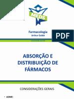 Absorção e Distribuição de Fármacos - Slides