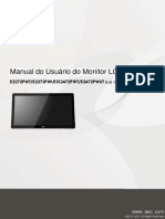 Manual Monitor LCD AOC E2272PWUT