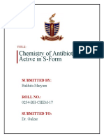 Chemistry of antibitoics which are active in S-form.docx