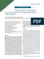 Desarrollo de la fuerza muscular en niños como estrategia para disminuir el riesgo de enfermedad cardiometabólica