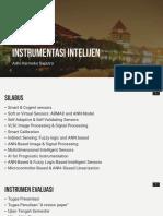 Instrumentasi Inteligen - 1