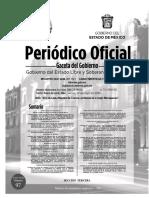 GACETA DEL GOBIERNO EDOMEX 29 DE MAYO 2020