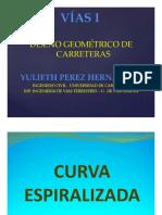 CURVA ESPIRALIZADA