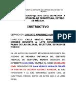 TRIBUNAL SUPERIOR DE JUSTICIA DEL ESTADO DE MÉXICO