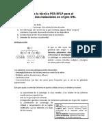 Introducción de la técnica PCR (2)