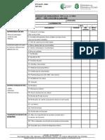 checklist ambulancia
