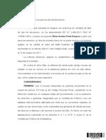 FALTA DE ESCRITURACION DE SENTENCIA SIMPLIFICADO