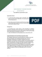 Orthodontics Board-Final Written Exam Blueprint 201911-1