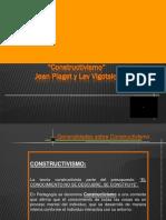 CONSTRUCTIVISMO Piaget Vigotzky