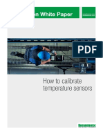 Beamex White Paper - How to calibrate temperature sensors ENG