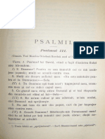 Popescu-Malaiesti Ioan, Psalmul 3