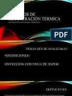 METODOS DE RECUPERACIÓN TÉRMICA