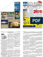 "Kuta Weekly-Edition 215 ""Bali""s Premier Weekly Newspaper"""