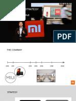 Xiaomi presentation