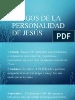 Rasgos de la personalidad de jesús