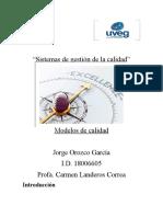 Modelos de calidad UVEG