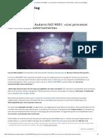 Apuntes de vocabulario ISO 9001_ «Los procesos suministrados externamente» _ BV eLearning Blog