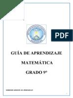 GUIA DE APRENDIZAJE  MATEMATICA 9°.doc