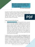 Artigo de opinião sobre as alterações laborais ao Estado de Emergência.