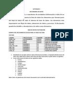 Actividad II Mario Diccionario de datos