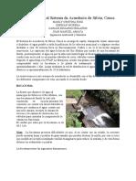 INFORME SALIDA ACUEDUCTOS DE SILVIA