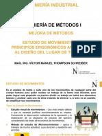 Estudio de Movimientos y Ergonomía del Trabajo