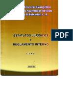 estatutos juridicos y reglameno interno AD 2013