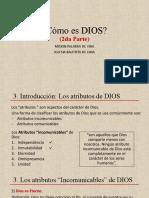 2. Como es Dios (Parte II)