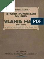 Istoria Romanilor din Pind Valahia Mare