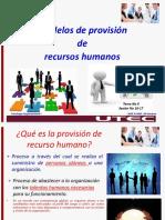 T2. Modelos de provisión de los recursos humanos (1)