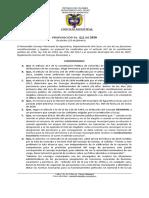 Proposicion para Delegar Personero Transitorio 2020 Mayo 2020