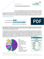 Microequities Deep Value Microcap Fund December 2010 Update