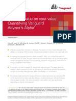 Vangaurd Advisor Alpha Study